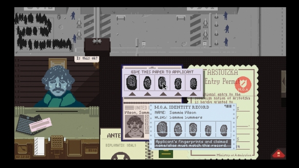 Papers, Please, una simulación de un trabajo agobiante